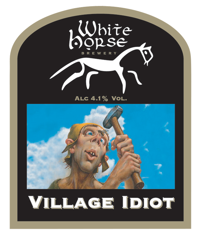 White Horse Village idiot.png