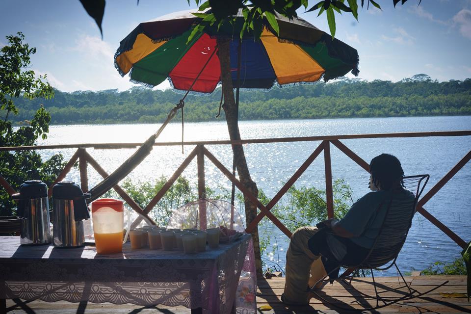 Breakfast on Ucayali River