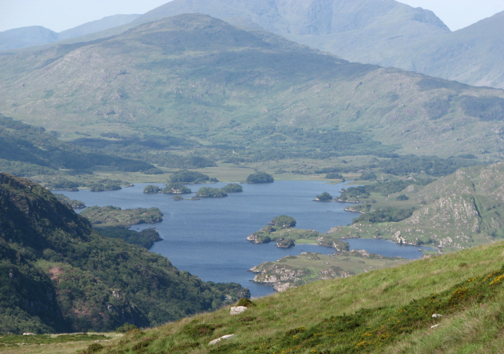 View from Torc Mountain