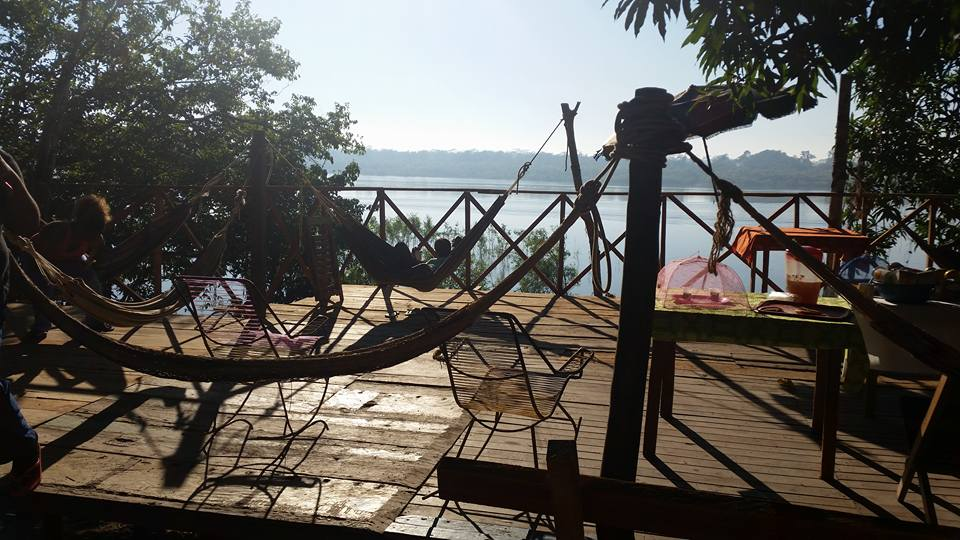 Hammocks Overlooking Ucayali River