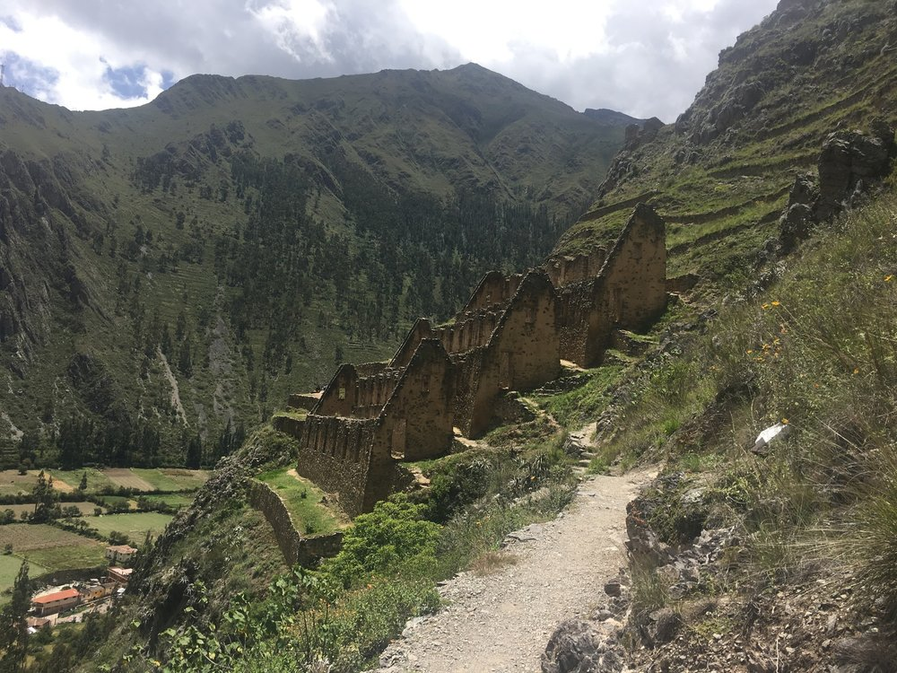 Ollantaytambo Cliff Ruins