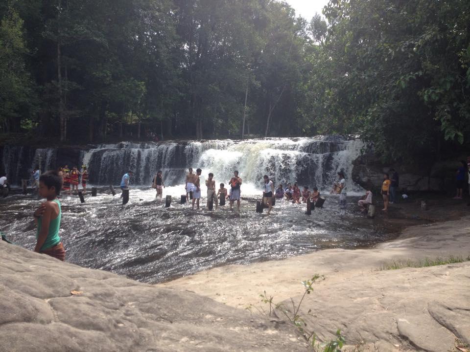 Phnom Kulen Hike - Waterfall