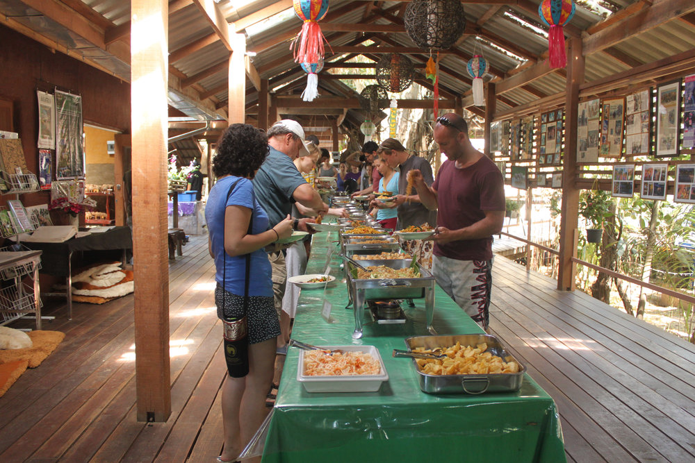 Lunch at Elephant Nature Park