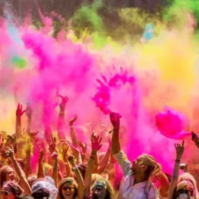 Come with us to Holi fest. March 2019. India. Unbound. http://unboundedadventures.com/india/