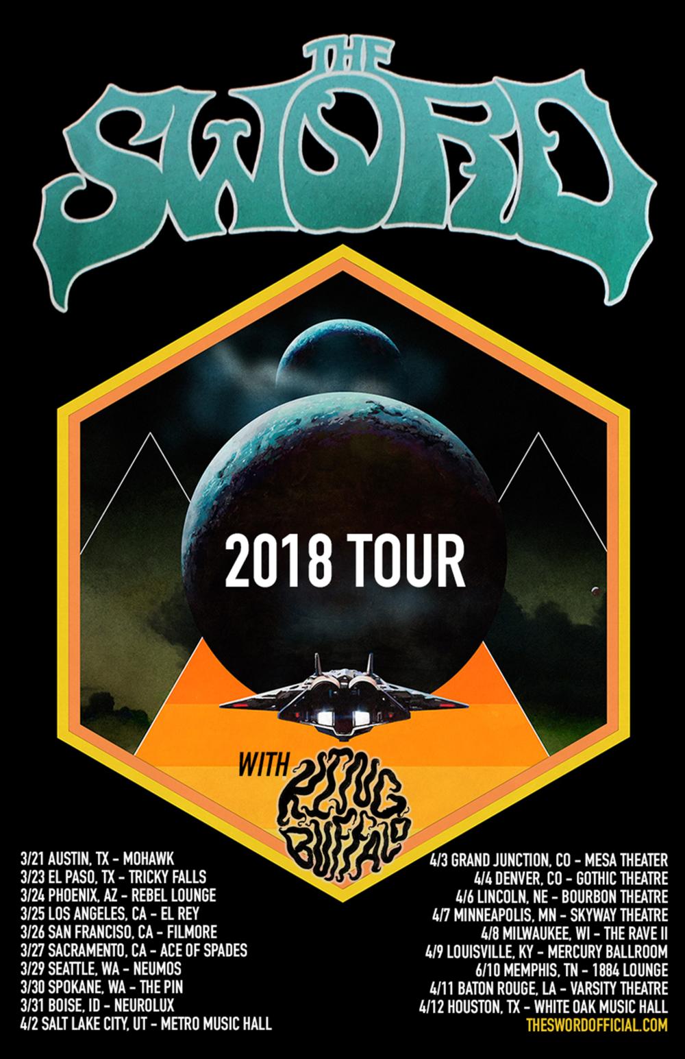 Previous Tour Dates — King Buffalo