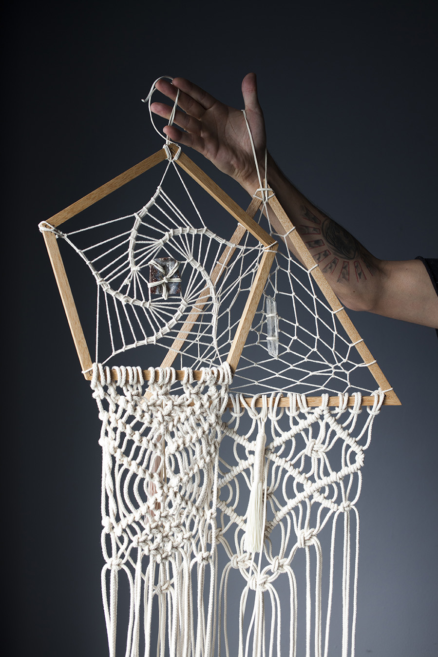 MEDUSAS/ MACRAME UNIQUE PIECES - Ver más