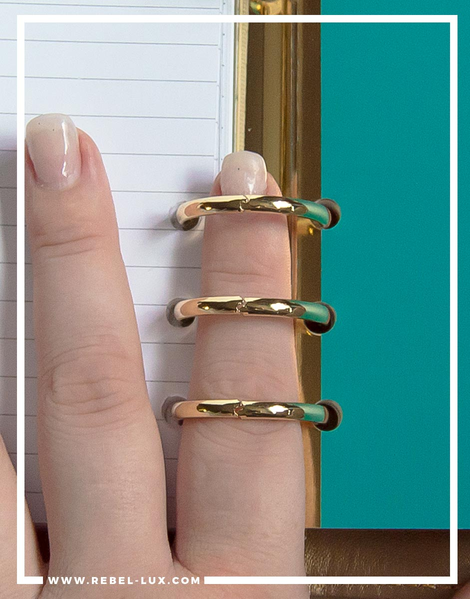 Planner review: Recollections. Watch out for loose or mismatched rings, as these can catch or tear your inserts when you turn pages.