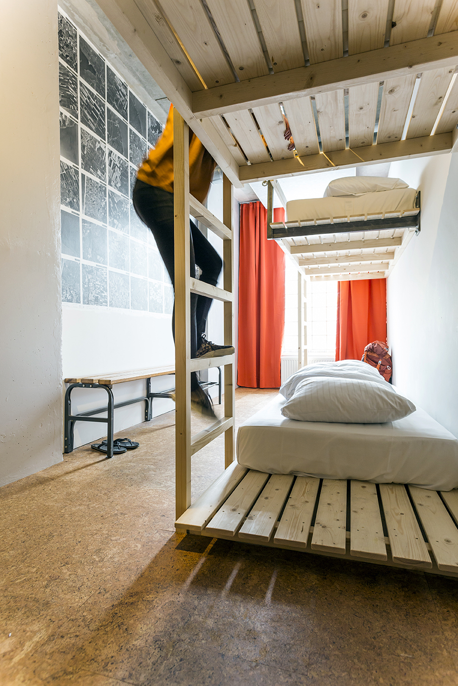 Hipster 5-Bed Dorm Ecomama Amsterdam Boutique Hostel