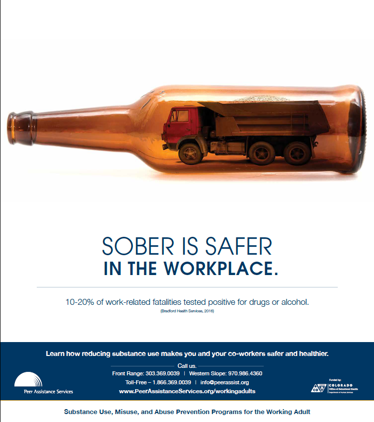 Sober is Safer poster