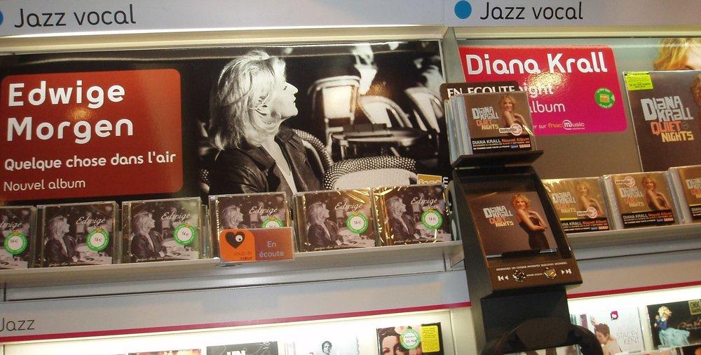 Photo PLV FNAC Champs Elysées, Paris