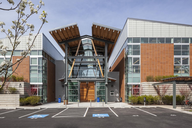 Schreiber Starling Whitehead Architects _ Wood Technology Center