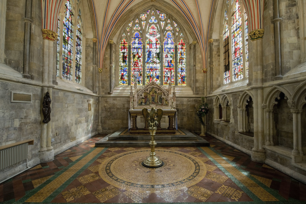 Chapel, Chichester Cathedral, West Sussex
