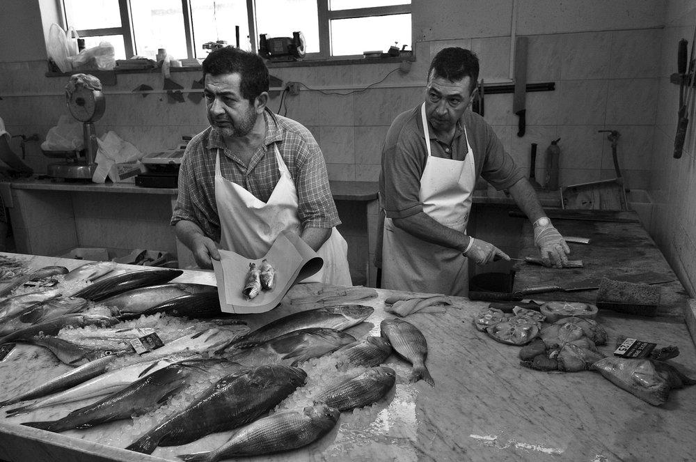 Sicilian fishmonger