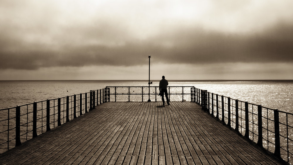 Boardwalk man © Greg Vivash
