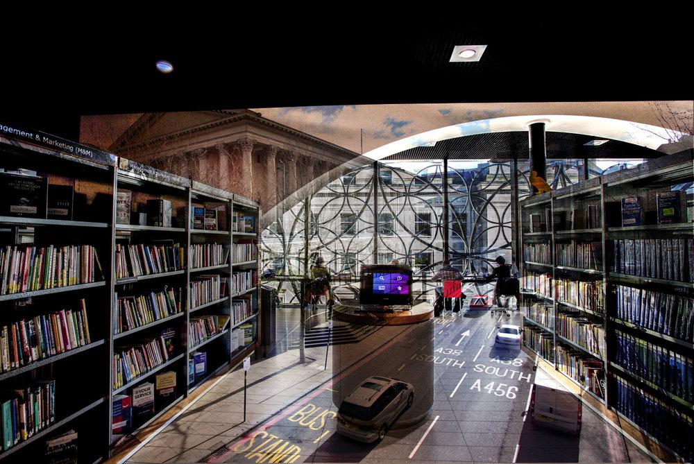 Birmingham library & Paradise circus