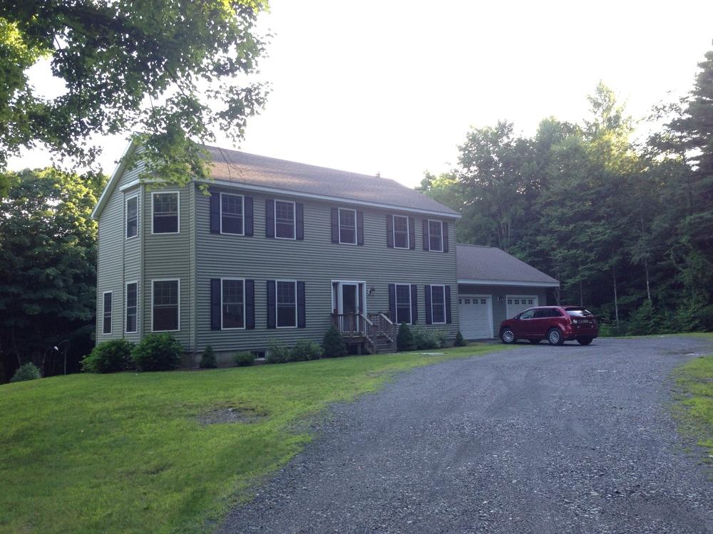 Our Vermont Home, circa 2014