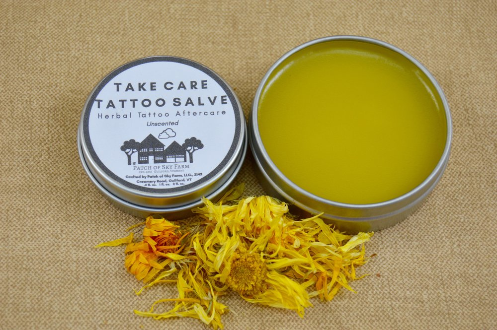 Patch of Sky Farm's Take Care Tattoo Salve