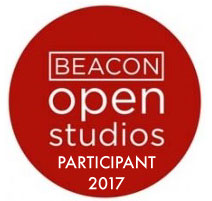 Artist Participant in Beacon Open Studios 2017