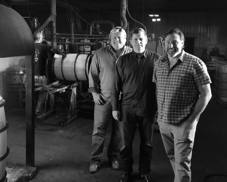 (Left to right) John Koko, Mark Nutsch, Scott Neil  U.S. Army Veterans, American Freedom Distillery Co-Founders
