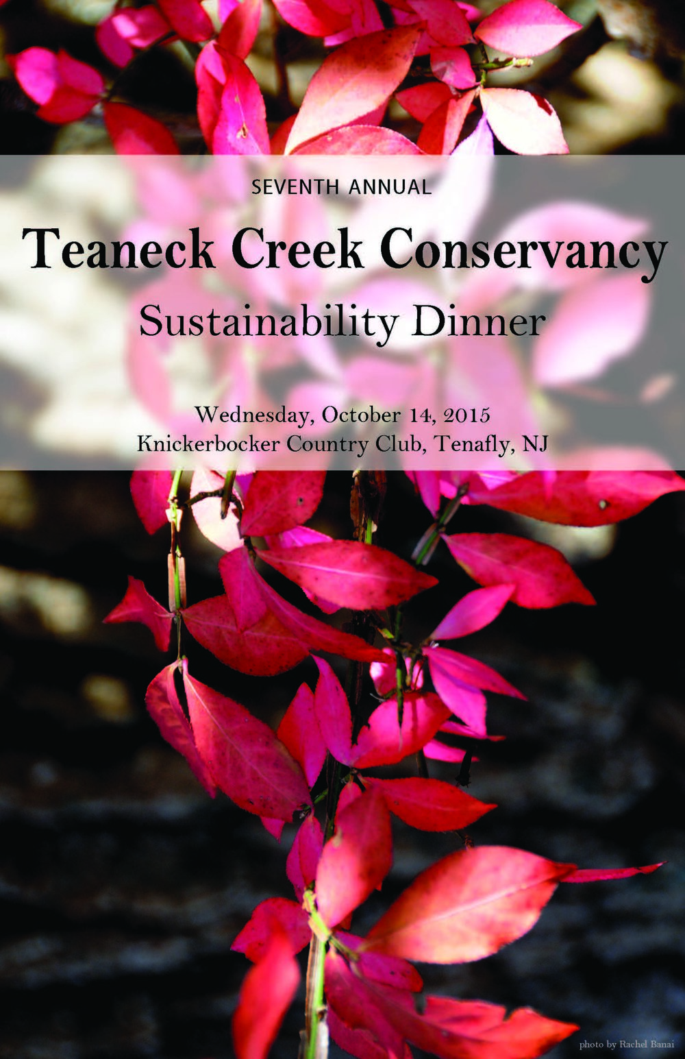 Click the image above to learn more about our 2015 Sustainability Dinner