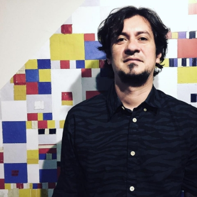 Artist Sergio Bergocce