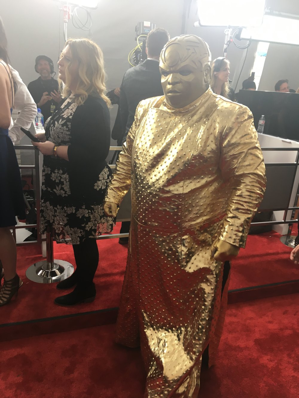 Cee-Lo...! I was gonna wear that.