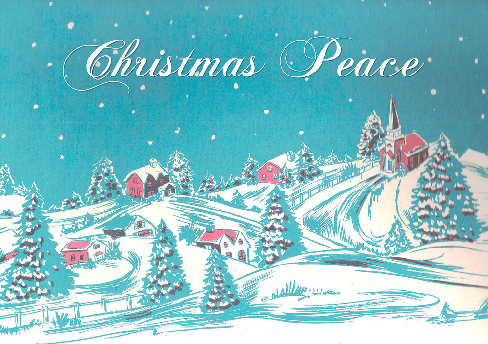 """Christmas Peace"" featuring Seth Farber on organ and piano."
