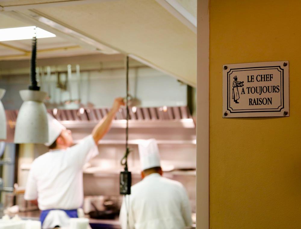 Le Chef a Toujours Raison Sign.jpg