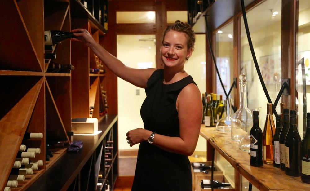 Nikki Gulick, Restaurant Eve's sommelier