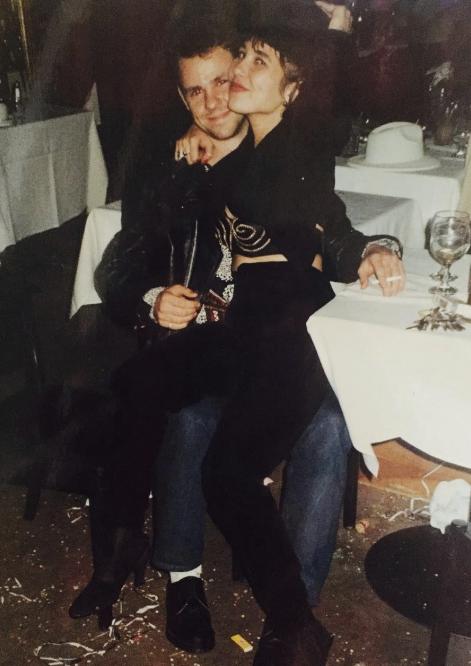 Cathal & Meshelle Armstrong, circa mid 1990s