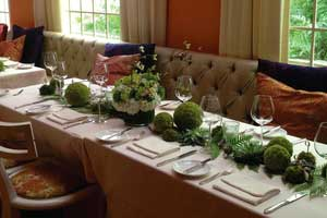 Parties & Weddings - A grand celebration or an intimate soiree, guests will fondly remember the dinner you planned at Restaurant Eve in Old Town Alexandria.