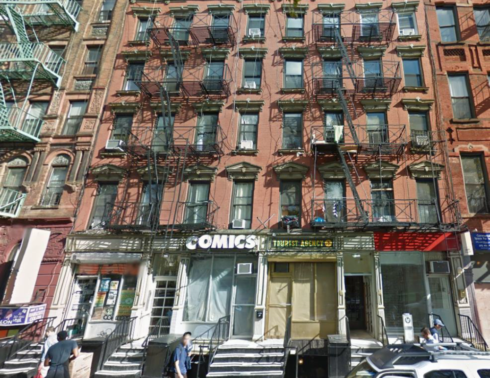 100 FORSYTH ST, NY    $16,000,000 (PACKAGE)    Two 5-story walk-up apartment buildings with 36 apartments and 4 stores