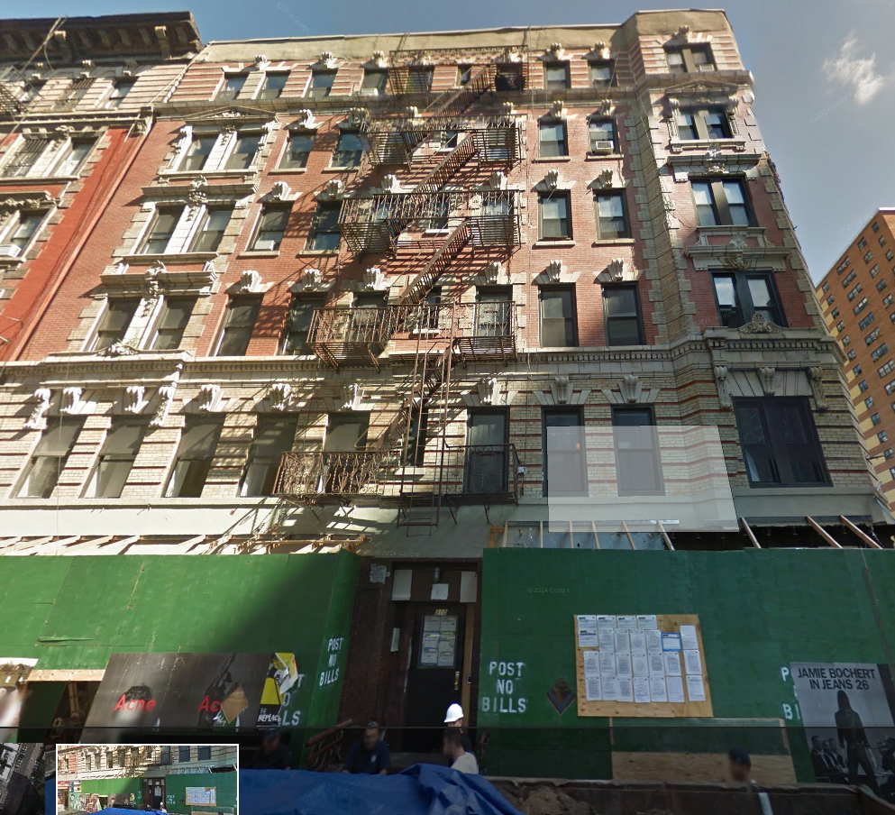 210 RIVINGTON STREET, NY    $13,750,000    6-story walk-up apartment building with 20 residential untis and 4 retail stores
