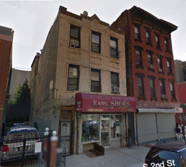 384 SOUTH 2ND ST, BK    $11,500,000 (PACKAGE)    3-story walkup with 2 apartments and 1 store