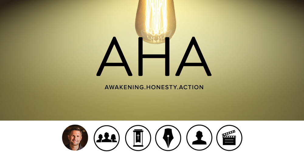 "Awakening, honesty and action – the three elements to an ""aha"" moment in your spiritual life. LEARN MORE >"