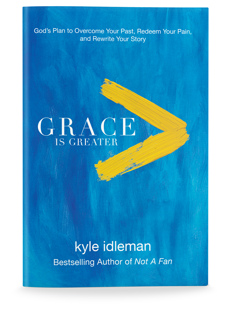 This post contains material excerpted from Kyle's new book,Grace Is Greater.