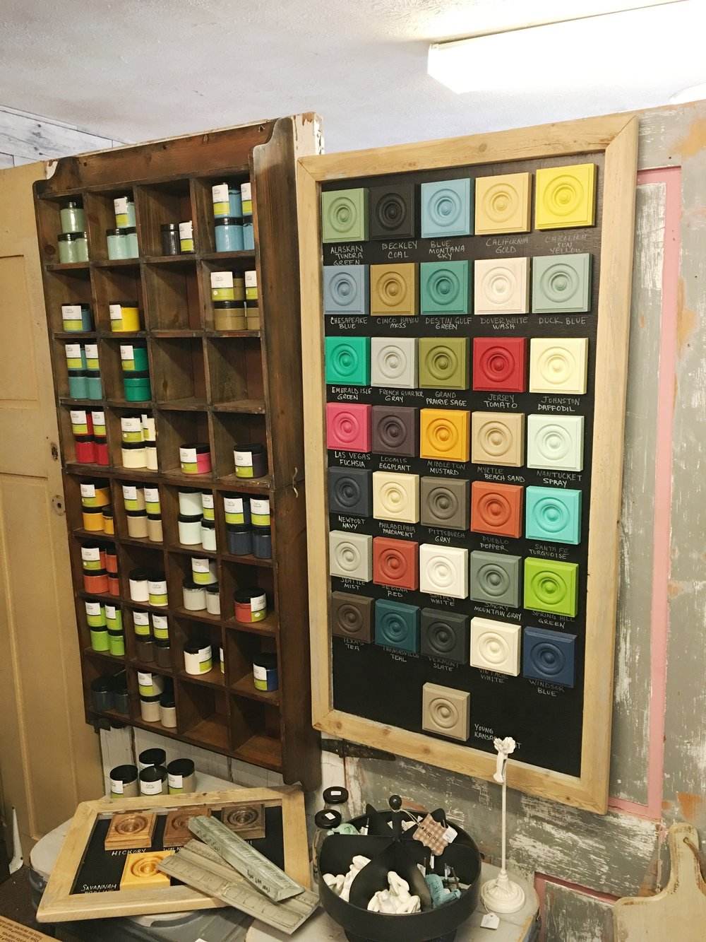 36 All Natural Chalk & Clay Paint Colors to choose from. Click below for a color chart and pick your color today!