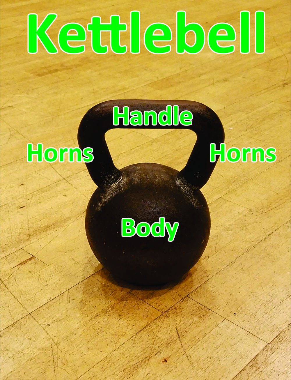 The kettlebell's unique body allows for an offset center of gravity to challenge the participant with many movements when compared to using dumbbells.