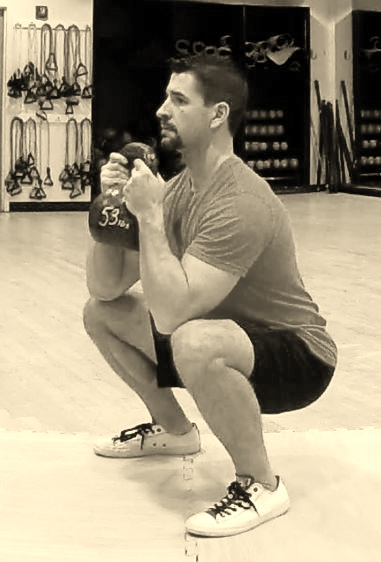 Bottom of the goblet squat