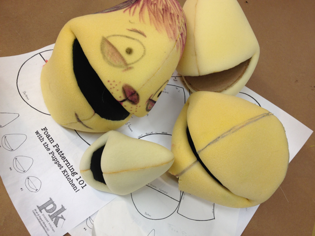 Workshop: Foam Head Patterning
