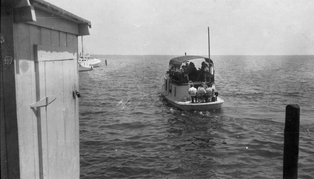Mailboat Aleta Leaving Atlantic, 1920s
