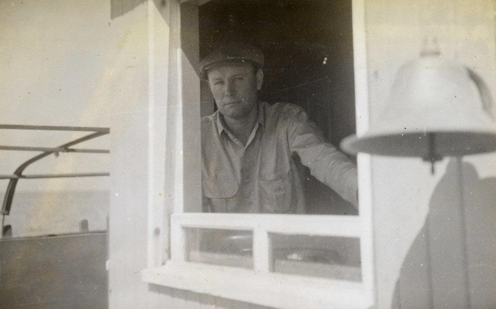 Skipper Toby Tillet