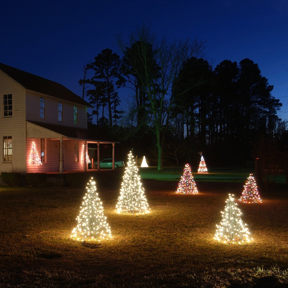 LED Crab Pot Trees with Waterproof Bulbs - Assorted Sizes & Colors ...