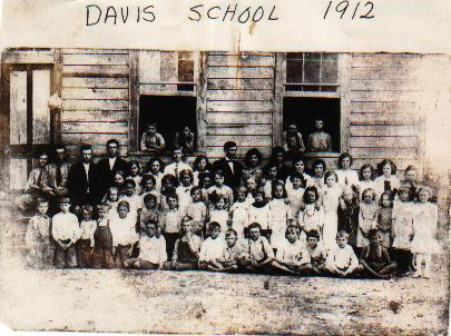 The Davis Shore School, 1912