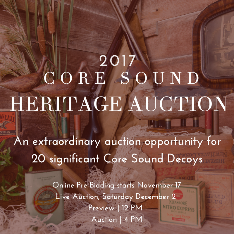 2017 core sound heritage auction
