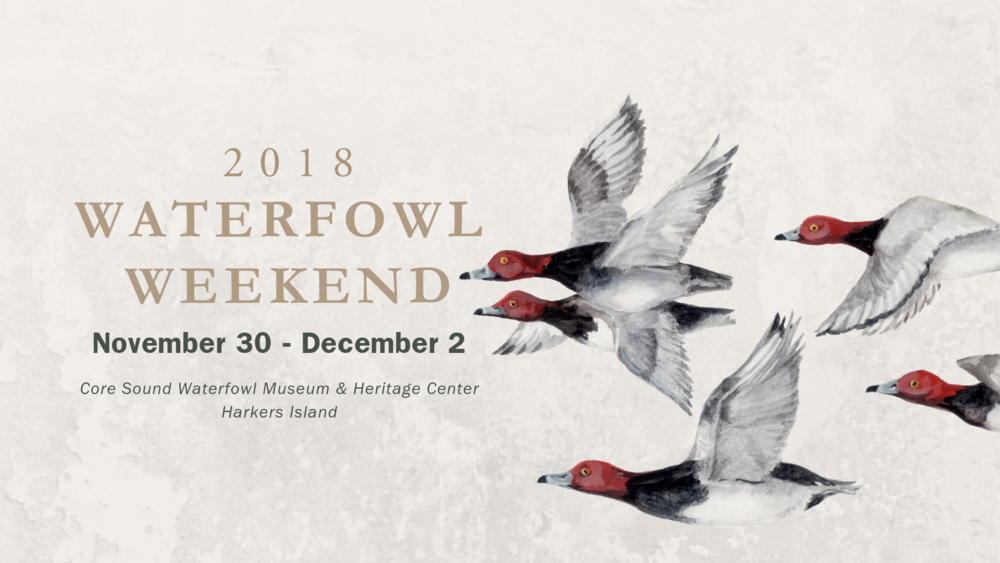 waterfowl weekend