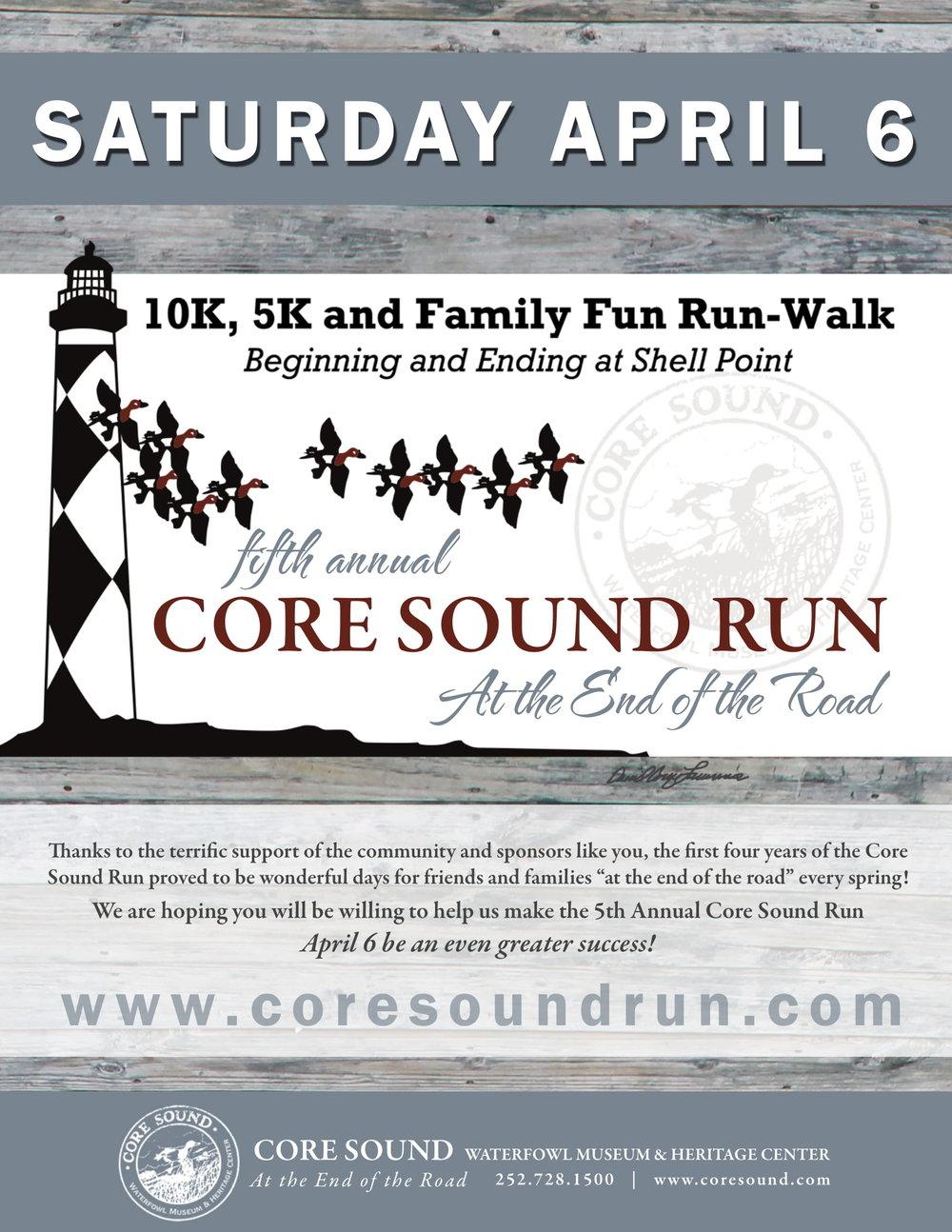core sound run