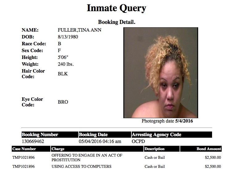 Fuller Tina Ann Mugshot Prostitute 2016-05-04.jpg