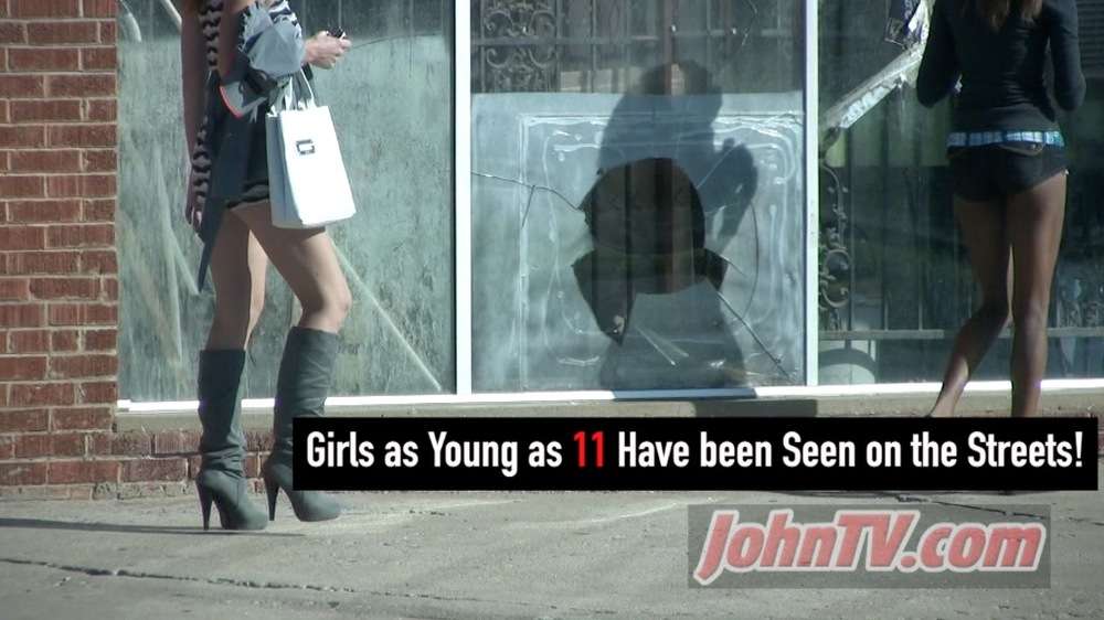 Sad, but true. I have personally seen girls as young as 11 working S. Robinson Ave. Until recently it was rare to see juveniles. In the last several years, 16 is a pretty common age to see them.  Here is an interview I did with ch9 regarding child prostitution in OKC (link) .