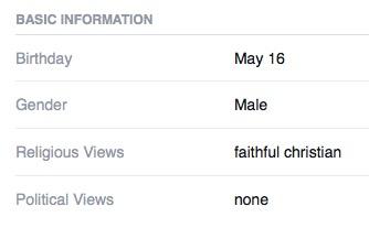 rom Steve Rhea's public Facebook profile.